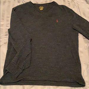 Polo long sleeved shirt